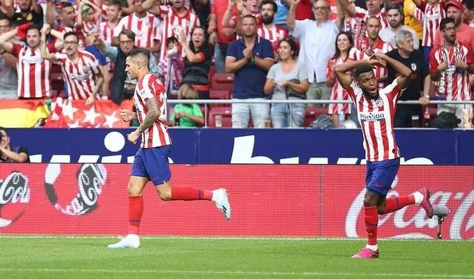 الدوري الاسباني: اتلتيكو مدريد يعود من بعيد ويفوز بالثلاثة على ايبار