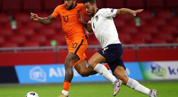 دوري الأمم الاوروبية: ايطاليا تتفوق على هولندا وفوز بولندا وتعثر النمسا وتشيكيا