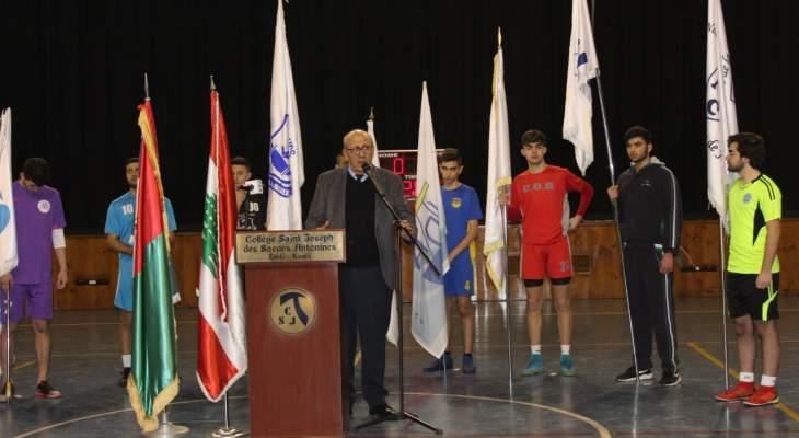 بلدية زحلة المعلقة وتعنايل أطلقت بطولة الرياضة المدرسيّة