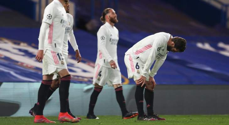 ابرز مجريات مباراة ريال مدريد وتشيلسي