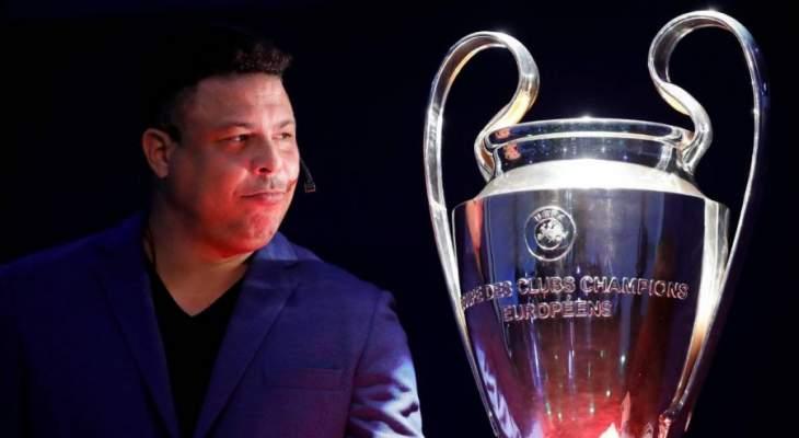 رونالدو: اللاعبون يتوترون عندما يسمعون نشيد دوري الأبطال