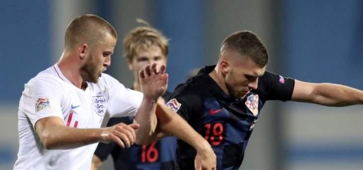 قمة سلبية بين كرواتيا وانكلترا وبلجيكا تخطف الصدارة من سويسرا