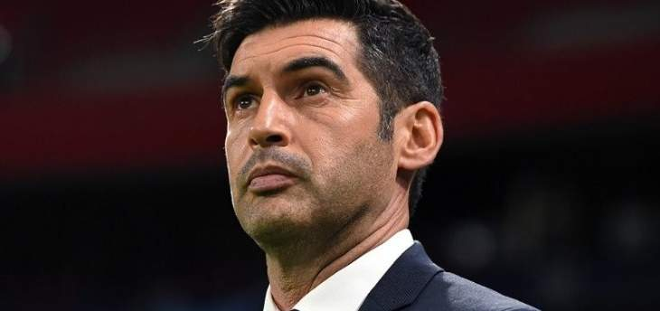 روما يعلن فونسيكا مديراً فنياً جديداً للفريق