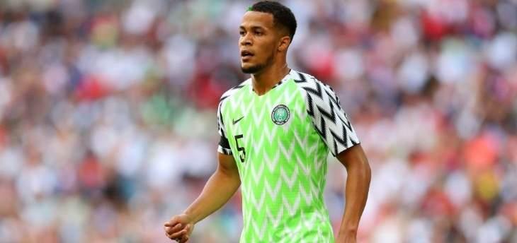 مدافع نيجيريا: سنسعى لمعالجة الاخطاء