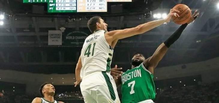 NBA : ميلواكي يعادل وغولدن ستايت يزيد تقدمه