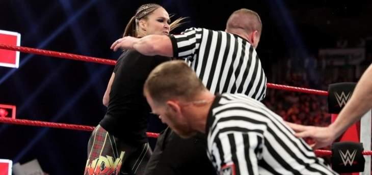اتحاد المصارعة يغرّم روندا راوسي نتيجة أفعالها يوم الاثنين