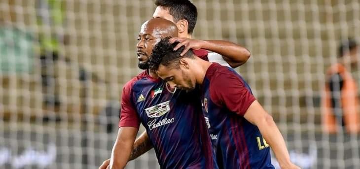 الوحدة يتأهل إلى نهائي كأس الامارات