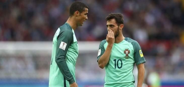 سيلفا: أرفض مقارنتي بـ رونالدو