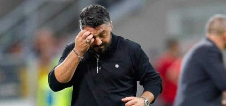 مصير غاتوزو مع ميلان مُعلق بمباراة لاتسيو الليلة في كاس إيطاليا