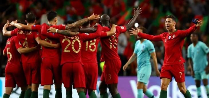 تصنيف الفيفا: بلجيكا تحافظ على الصدارة البرتغال تتقدم ولبنان في المركز ال 86