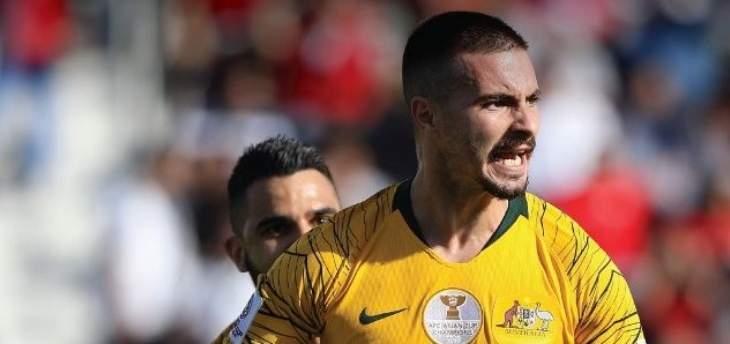 آسيا 2019: أستراليا تفوز على فلسطين بثلاثية نظيفة