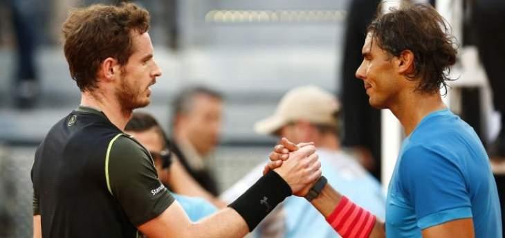 نادال عن اعتزال موراي: خسارة كبيرة لعالم التنس