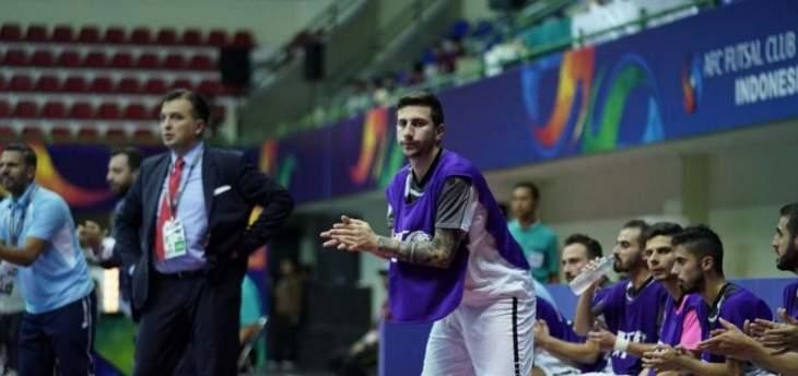 """كرة الصالات: """"ثاي سون نام"""" يقلب الطاولة على بنك بيروت ويتأهل لنهائي بطولة آسيا"""