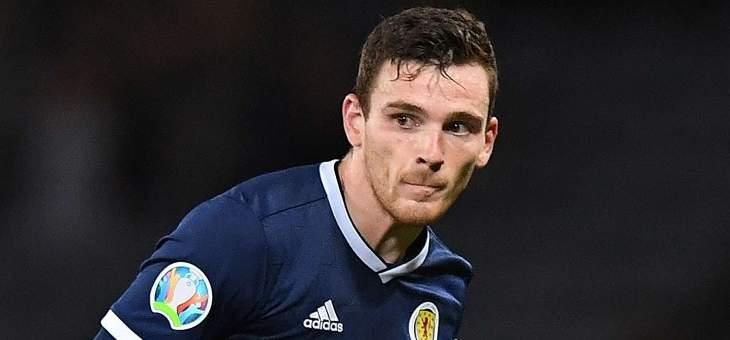 روبرتسون مستاء بعد انسحابه من قائمة اسكتلندا