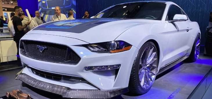 فورد تزيح الستار عن Mustang Lithium الكهربائية