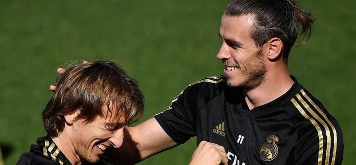 مودريتش: بايل سعيد في ريال مدريد