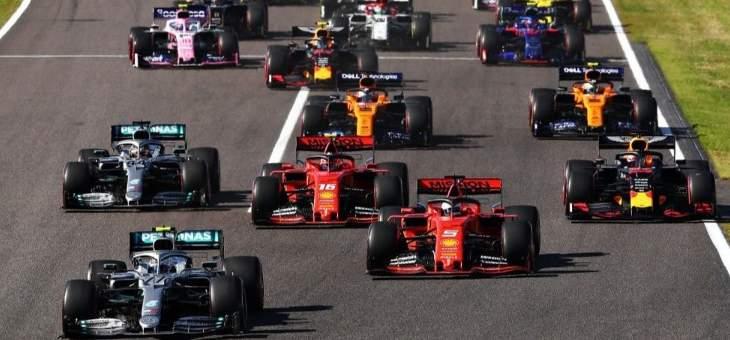 بوتاس يستفيد من خطأ مزدوج لسائقي فيراري ويفوز بجائزة اليابان الكبرى