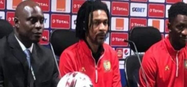 سونغ: نحن سعداء بما قدمناه امام مصر