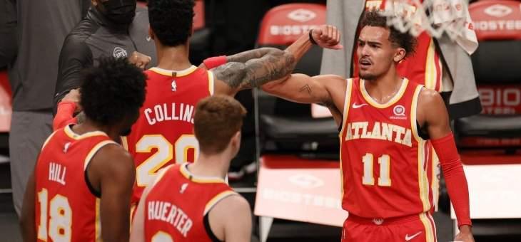 مراهن اميركي يضع رهان كبير على فوز اتلانتا بلقب NBA