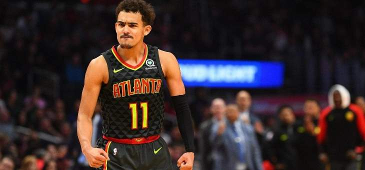 NBA: نقاط تراي يونغ ال 37 لم تساعد اتلانتا للفوز على اورلاندو