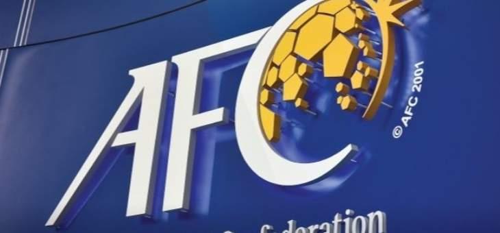 الاتحاد الاسيوي يمدد تعليق مباريات كرة القدم الى ما بعد حزيران