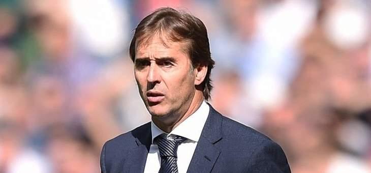 لوبيتيغي: سنخوض تحدٍ كبير امام برشلونة