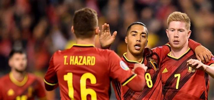 بلجيكا اكثر من سجل في تصفيات يورو 2020 واسبانيا اكثر من لعب بطريقة جماعية