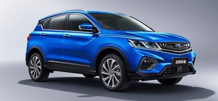 شركة غيلي الصينية تقترب من إطلاق سيارة جديدة