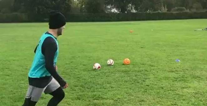 ويلشير يتدرب في المنتزه بعد تسريحه من وست هام