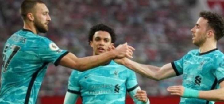 ليفربول يستعيد بريقه بفوزه امام اليونايتد ويضغط على مركز في دوري الابطال