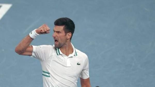 ديوكوفيتش يهزم كرتسيف ويتأهل للمرة التاسعة إلى نهائي بطولة أستراليا المفتوحة