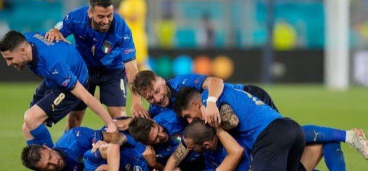 ابرز مجريات مباراة سويسرا وايطاليا