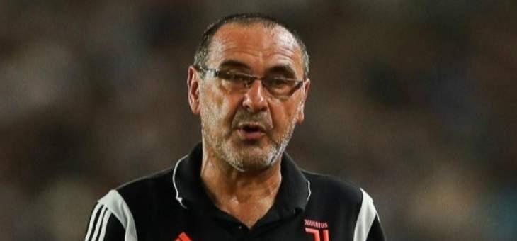 ساري: حالياً نحن نفكر فقط في الدوري الإيطالي