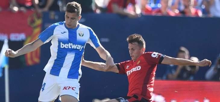 ليغانيس يحقق انتصاره الاول في الليغا بفوزه الصعب على ريال مايوركا