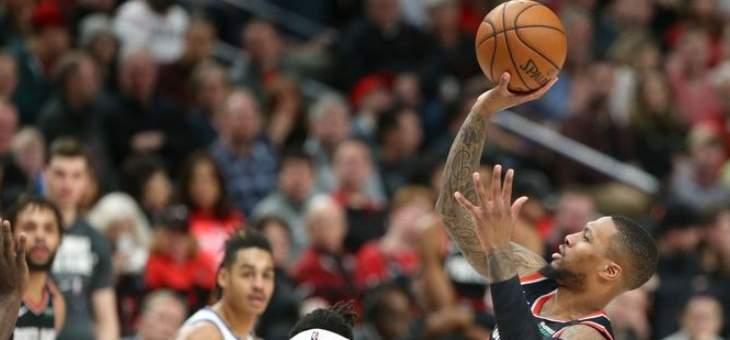 ليلارد سادس لاعب في تاريخ NBA يسجل اكثر من 60 نقطة