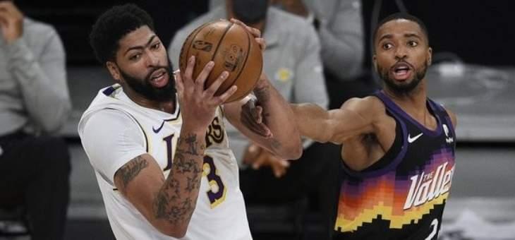 NBA: فوز الليكرز على الصانز يبقي اماله بالنهائيات