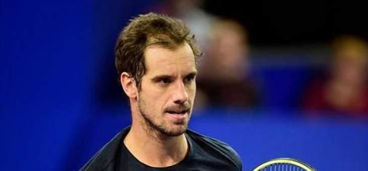 غاسكيه: اتحادات التنس تشبه الدمى