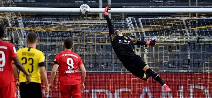 رقم قياسي لكيميتش ونوير اكثر من شارك في مباريات الدوري الالماني