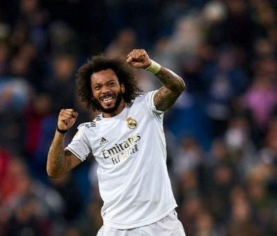 مارسيلو يحتفل بايقاف ميسي كأنه سجل هدفاً