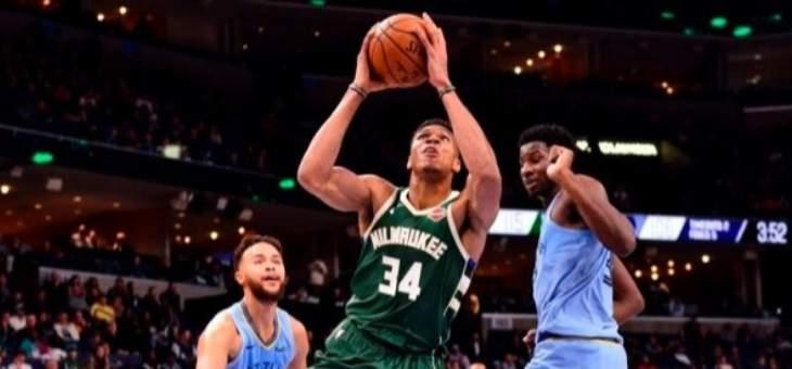 NBA: قطار ميلووكي يطيح بميمفيس ويصل الى الفوز ال17 المتتالي