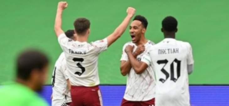 ارسنال يتوج بلقب الدرع الخيرية بفوزه بضربات الترجيح امام ليفربول