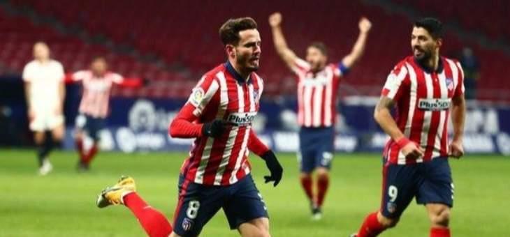 الليغا: اتلتيكو مدريد يعزز صدارته بفوز ثمين امام اشبيلية