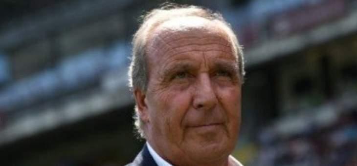 فينتورا: اتفق تماما مع العمل الذي يقدمه مانشيني مع ايطاليا