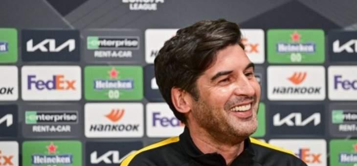 فونسيكا: نريد تقديم مباراة متكاملة امام أياكس أمستردام