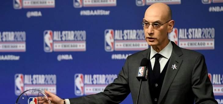 تفاصيل خطة سيلفر لاستئناف مباريات NBA