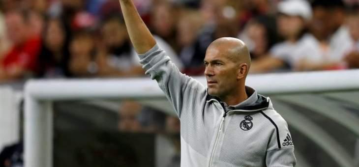 """بطولة إسبانيا: زيدان يبدأ """"الآن"""" مغامرته الثانية مع ريال مدريد"""