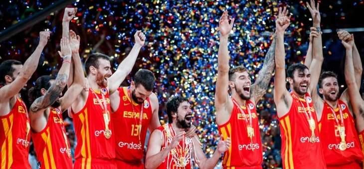 موجز المساء: اسبانيا بطلة مونديال السلة، ميسي يعود لتدريبات برشلونة، اشبيلية يتصدر الليغا والعهد بطل السوبر