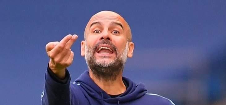 غوارديولا: أتوقع مباراة صعبة أمام ارسنال وليفربول تألق