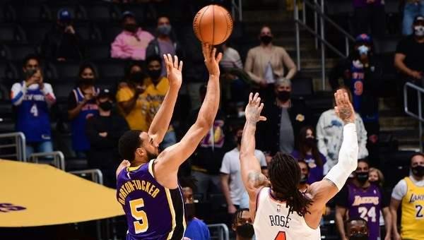NBA: الليكرز يفتقد ليبرون في الفوز على النيكس