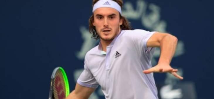 روبليف يرافق تسيتسيباس الى الدور الثالث من بطولة دبي المفتوحة